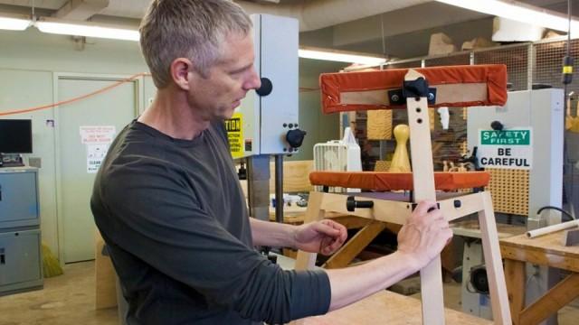 Cadeira ergonômica para músicos.