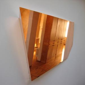 Espelho de cobre.
