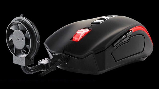 Black Element Cyclone Gaming Mouse.
