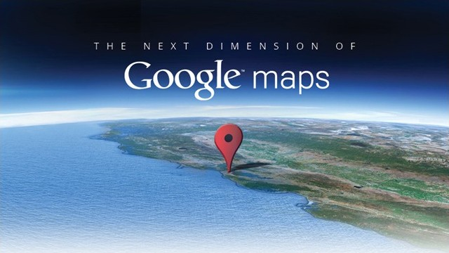 Convite para o evento do Google Maps.
