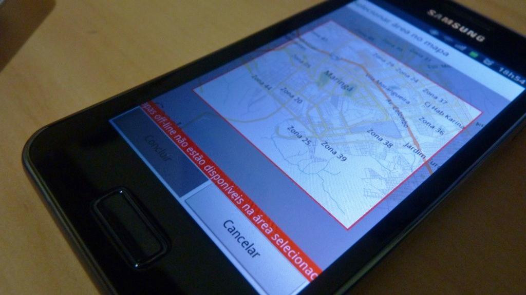 Sacanagem, Google Maps!