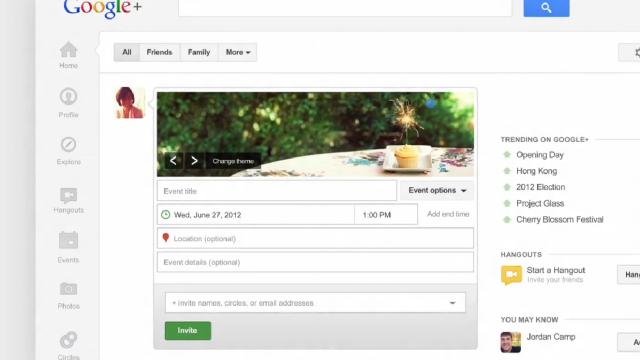 Google+ quer deixar seus eventos ainda mais sociais