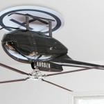 Helicóptero de teto por Raffaele Iannello