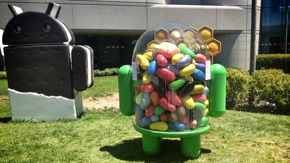 Estátua do Jelly Bean.