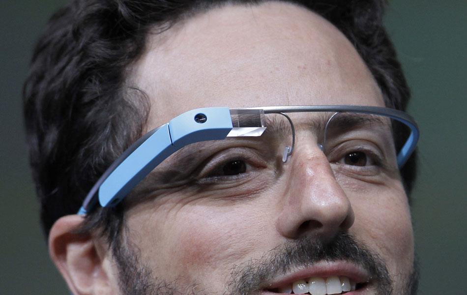 Sergey Brin com Google Glass.