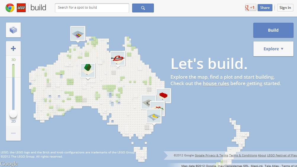 Agora você pode construir Lego virtual no Chrome