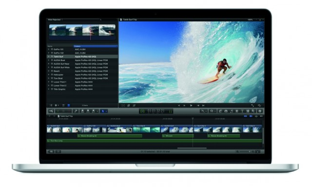 Novo MacBook Pro com tela Retina.