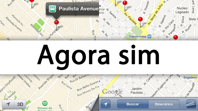 Mapas no iOS 6 Beta 2.