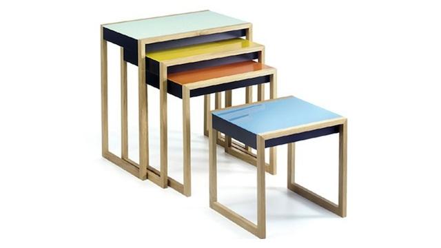 Mesas aninhadas.