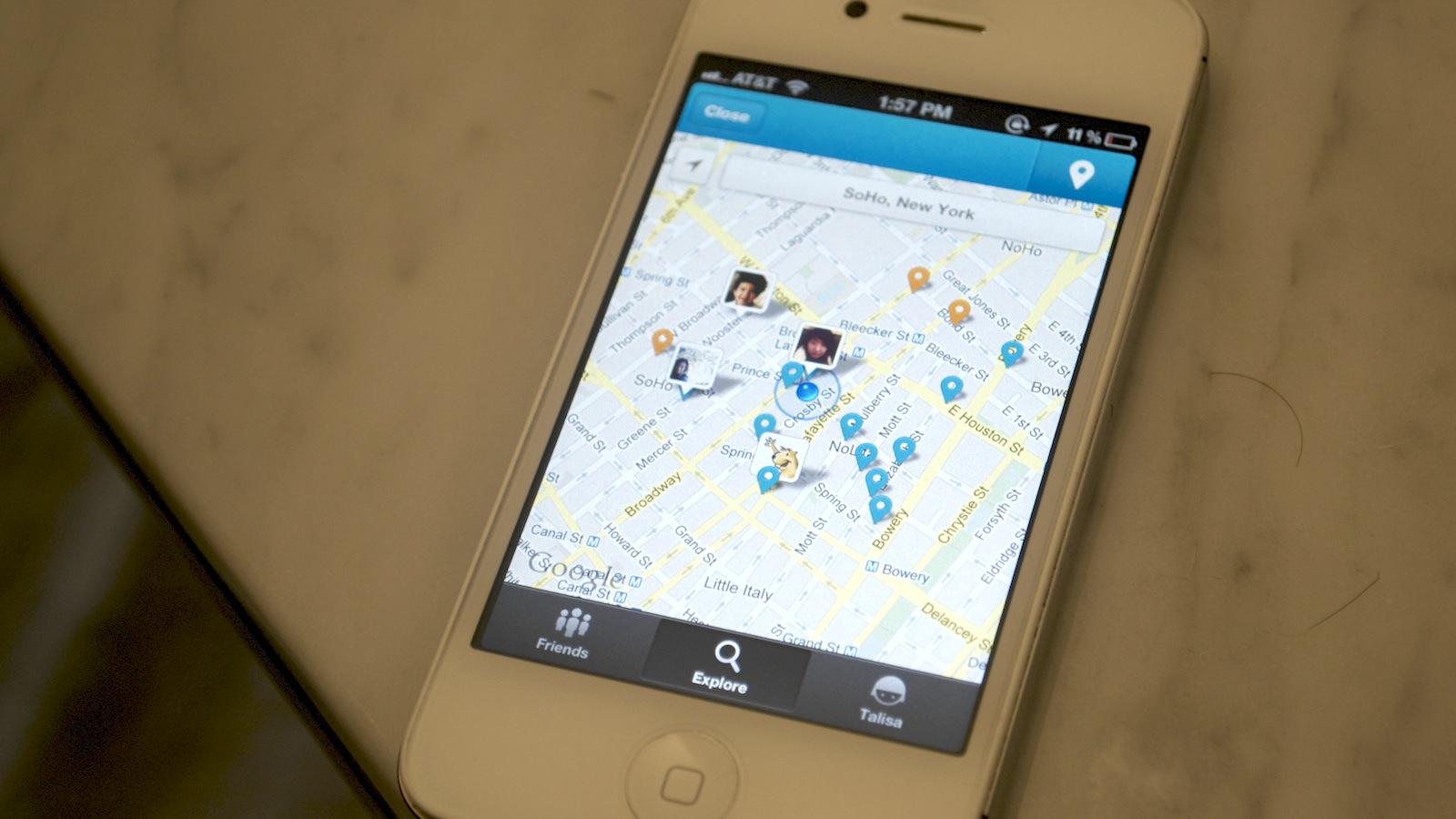 O novo Foursquare para iOS e Android