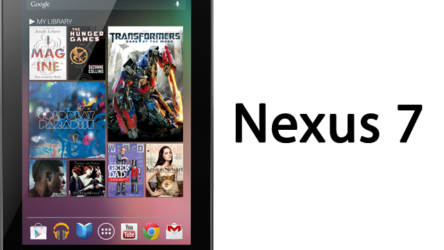 Frankenreview do Nexus 7.