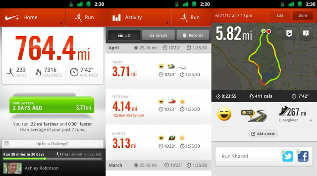 Nike+ Running.