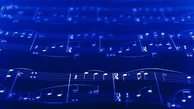 Notas musicais.