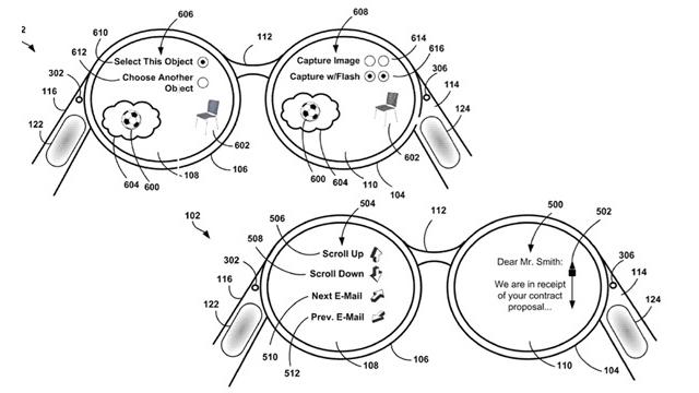 Com nova patente, óculos do Google querem sentir seu toque