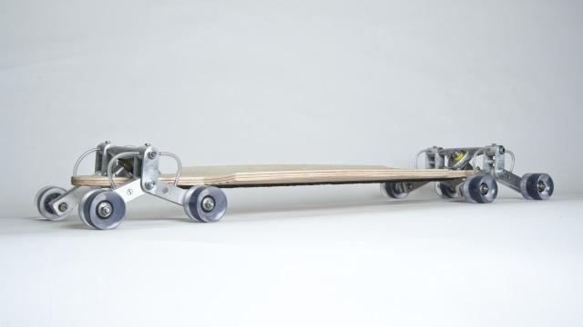 Stair Rover: um skate que consegue descer escadas