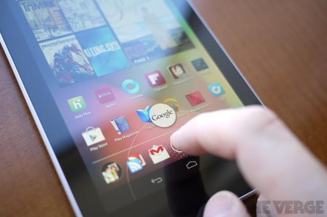Bela tela, seu Nexus 7!