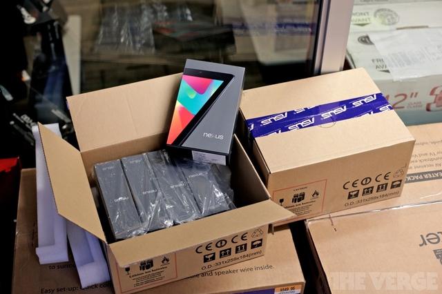 Estoque de Nexus 7