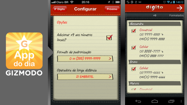 9Digito para iPhone e Android