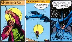 Batman matador.