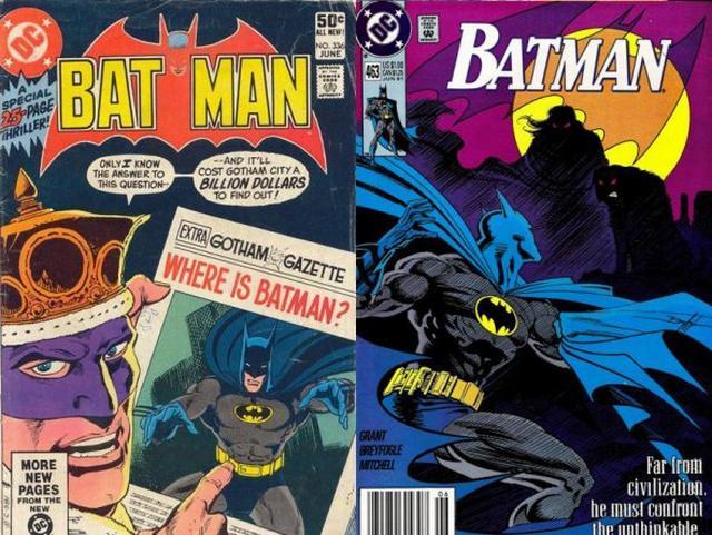 Batman tradicional.