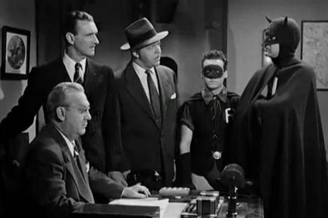 Batman na TV, em 1943.