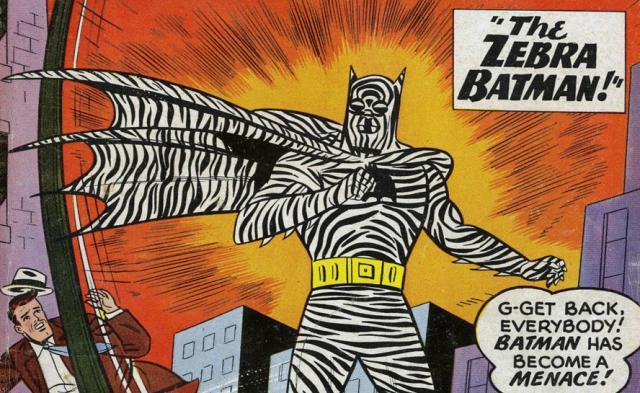 Batman zebrinha.