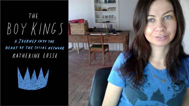Katherine Losse e seu livro.