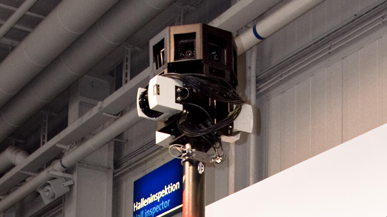Câmera do Street View.