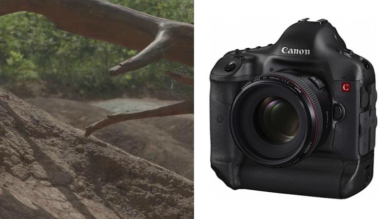 Primeiro vídeo da Canon EOS-1D C