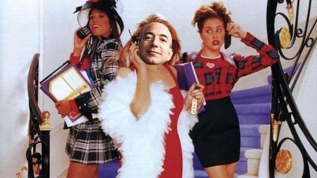 """Jeff Bezos estrela em: """"Clueless"""""""
