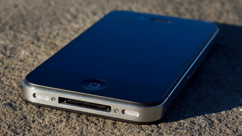 Conector velho do iPhone.