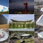 As construções olímpicas de 2012.