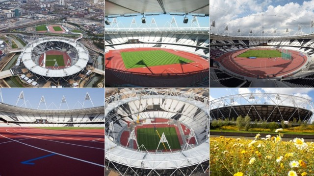 Estádio Olímpico.