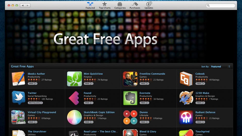 Apps grátis para OS X.