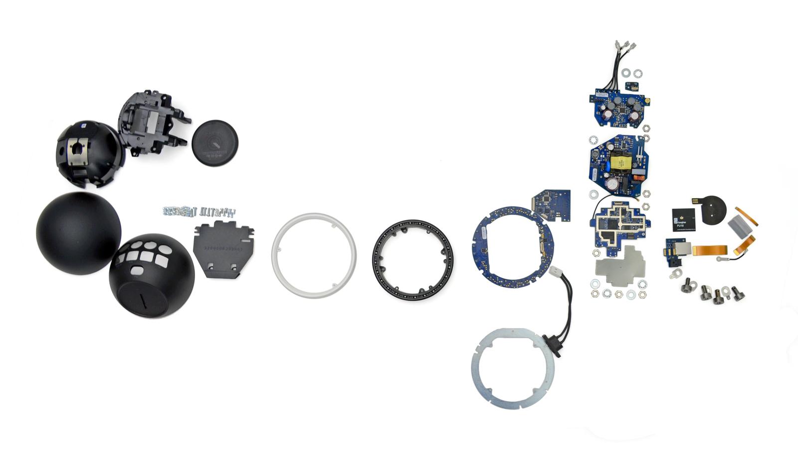 GOOGLE - Nexus Q desmontado
