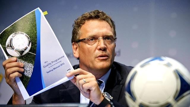 Jerome, secretário-geral da FIFA.