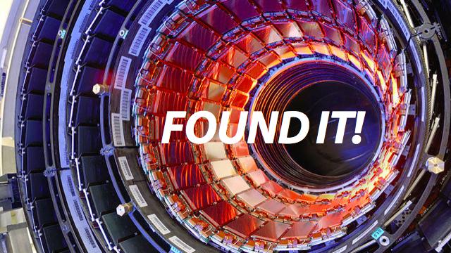 Descoberto o bóson de Higgs