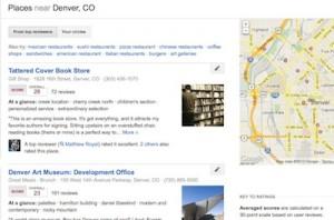 Google Local.