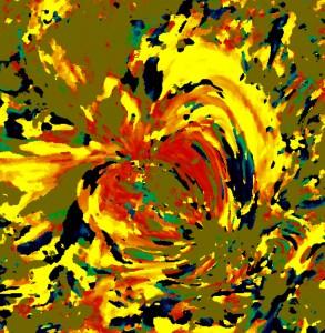 Sim, este é o Sol versão Monet.