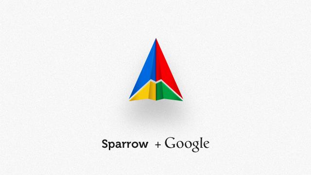 Sparrow + Google.