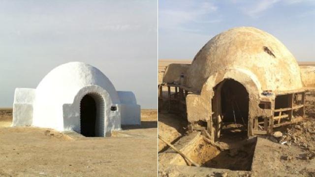 Casa de Luke Skywalker na vida real