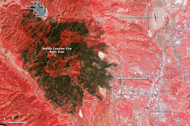 Incêndio em Waldo Canyon.