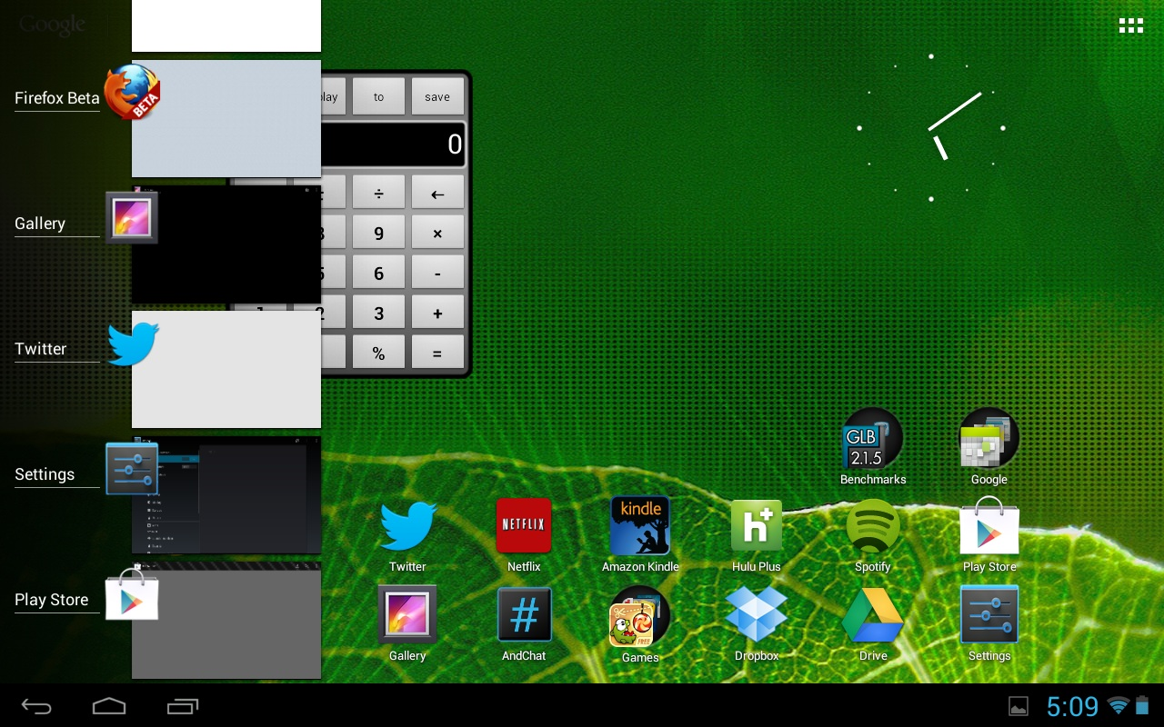 Xoom com Jelly Bean.