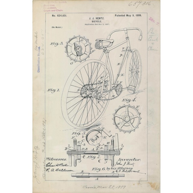 Bicicleta, 1899.