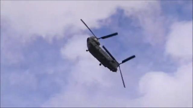 CH-47 Chinook.