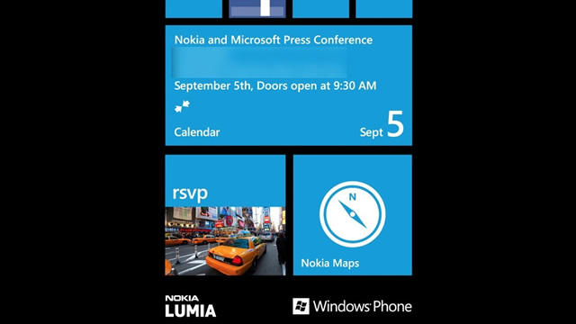 Convite para evento sobre Windows Phone 8.