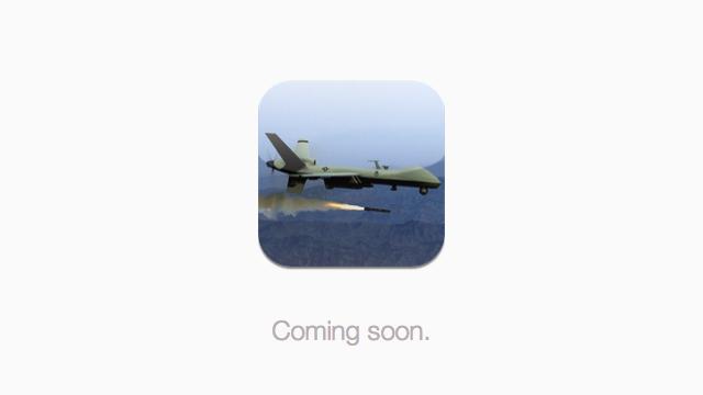 Drone+, fora da App Store.