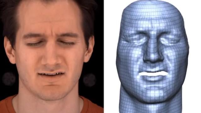 Expressões faciais em robôs, cortesia da Disney.