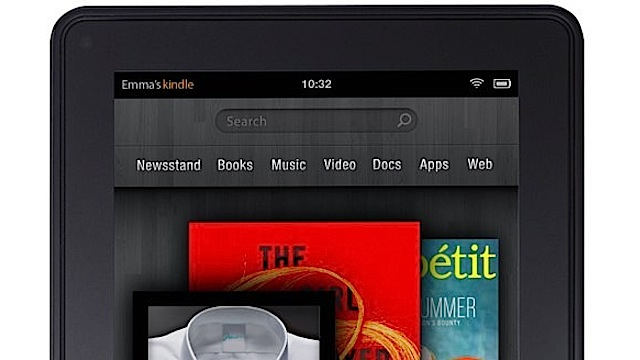 Kindle Fire.