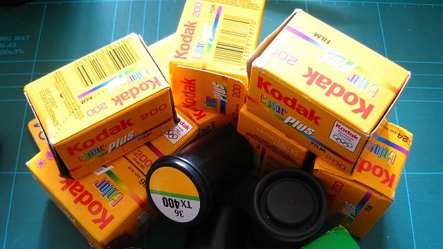 Filme fotográfico da Kodak